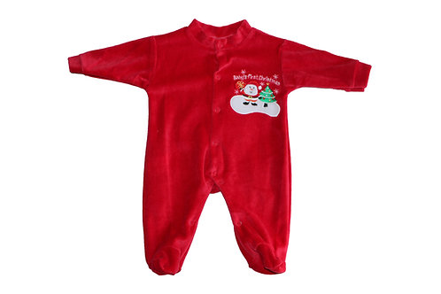 """GRENOUILLÈRE """"BABY'S FIRST CHRISTMAS"""""""