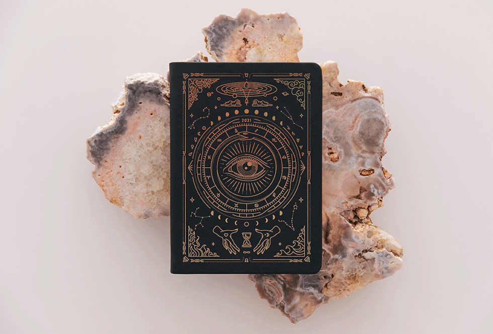 Astrological Planner in Blackby Magic Of I
