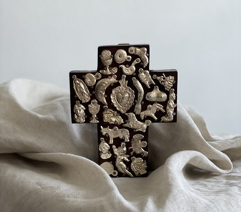 Small Wooden Milagros Cross