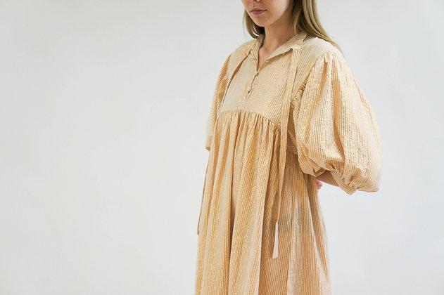 High Desert Medellin Dress   Gold Stripe Sand   Jen's Pirate Booty