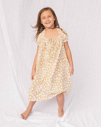 Mini Sawyer Dress | Caramel Daisies | The Lullaby Club