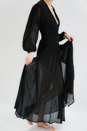 Lapis Maxi Dress | Black | Jen's Pirate Booty