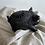 Thumbnail: Black Clay Piggy Bank