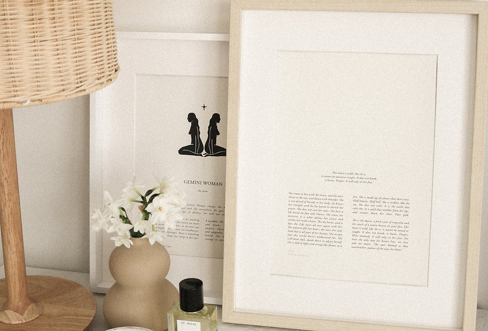 Print by Sunday Lane    Written and illustrated by Sunday Lane, in their Brisbane studio. Printed onto 215gsm off-white felt
