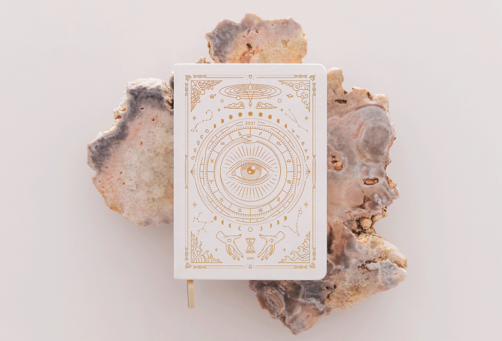 Astrological Planner in White by Magic Of I
