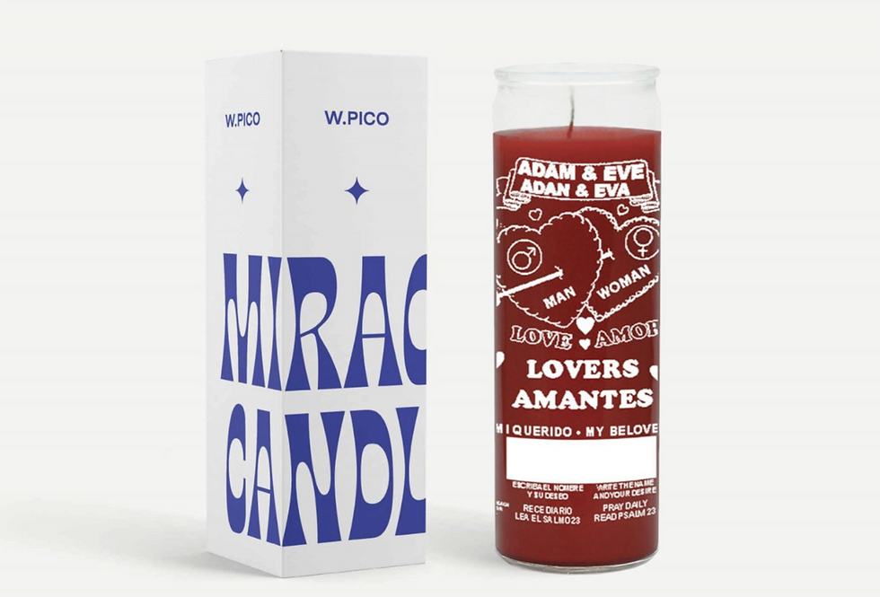 Lover's Amor Miracle Candle   W.PICO