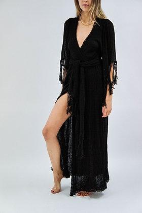 Phoenix Robe/Maxi   Black   Jen's Pirate Booty