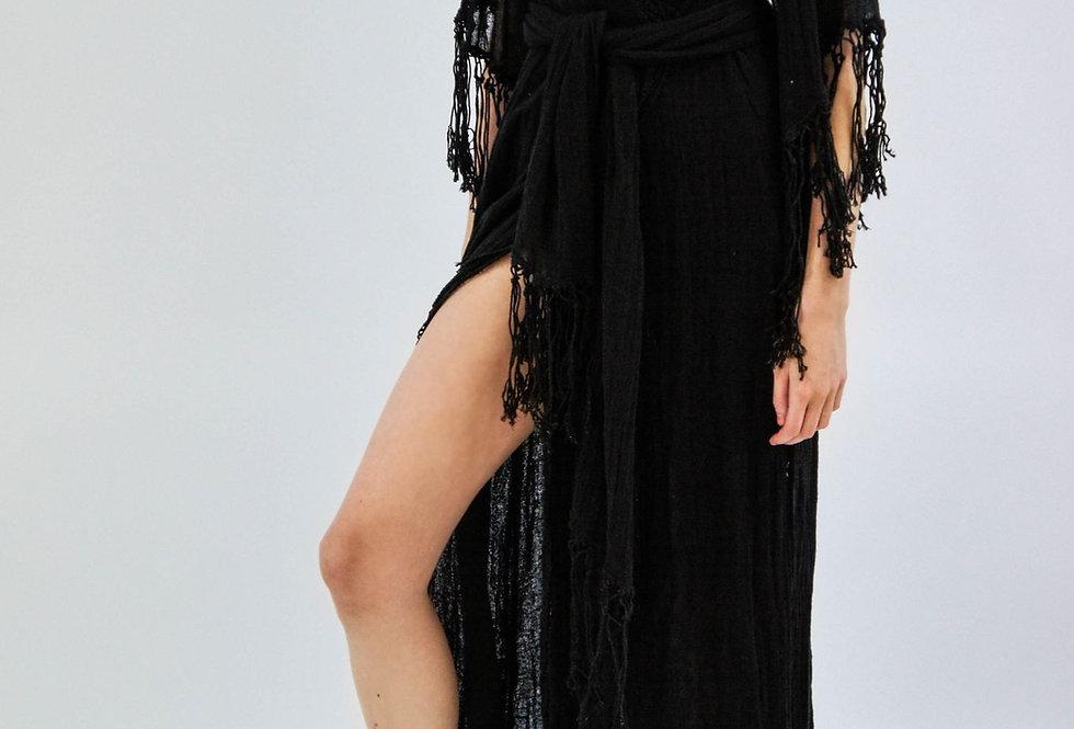 Phoenix Robe/Maxi | Black | Jen's Pirate Booty
