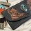 Thumbnail: Black Turquoise Wallet   Buffalo Girl