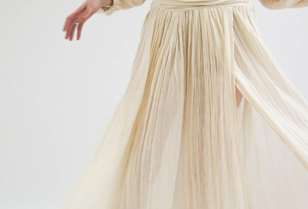 Lapis Maxi Dress | Natural | Jen's Pirate Booty
