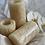 Thumbnail: White Onyx Tea Light Holder Set
