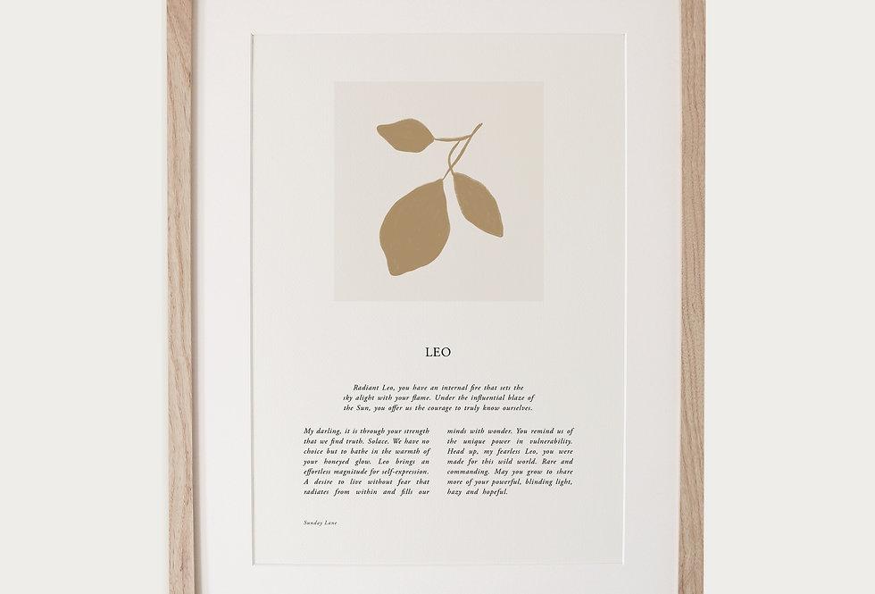 Leo 04 | Sunday Lane