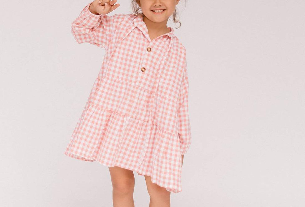 Mini Avalon Smock Dress | Candy Gingham | The Lullaby Club