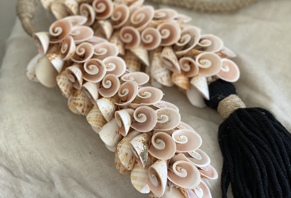Tassel with Pink Shells