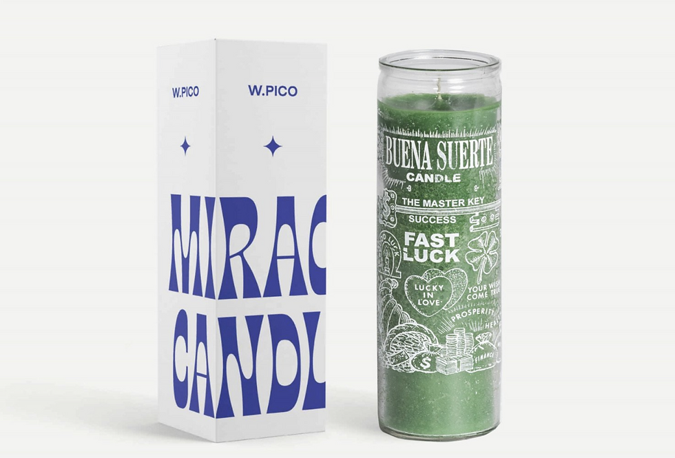 Fast Luck Miracle Candle | W.PICO
