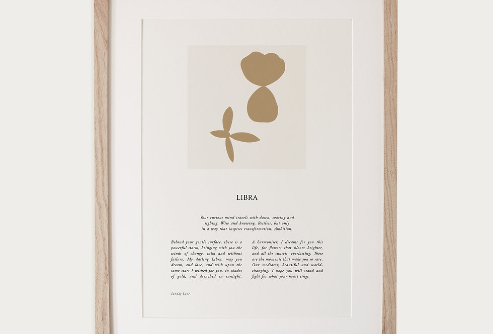Libra 04 | Sunday Lane