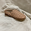 Soft leather and non slip soles, these woven leather mules are perfect for precious little feet.