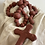 Hanging Clay Rosary Beads