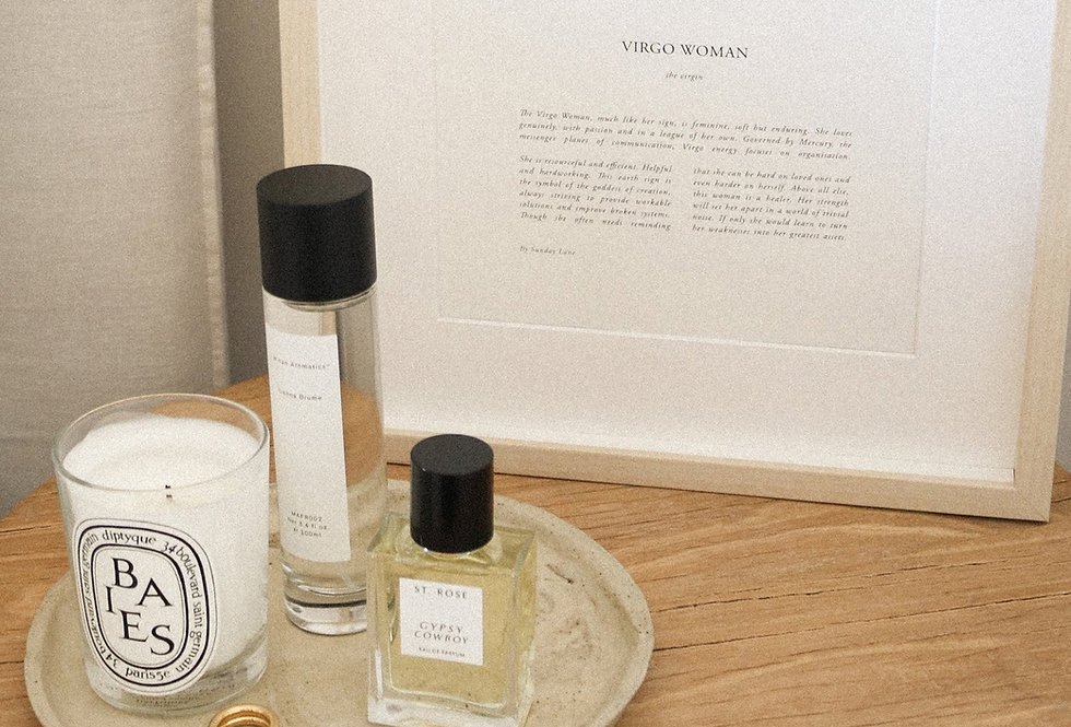 Virgo  by Sunday Lane    Inspired by you, the celestial woman, strong as hell and spectacularly created. A modern-day take on