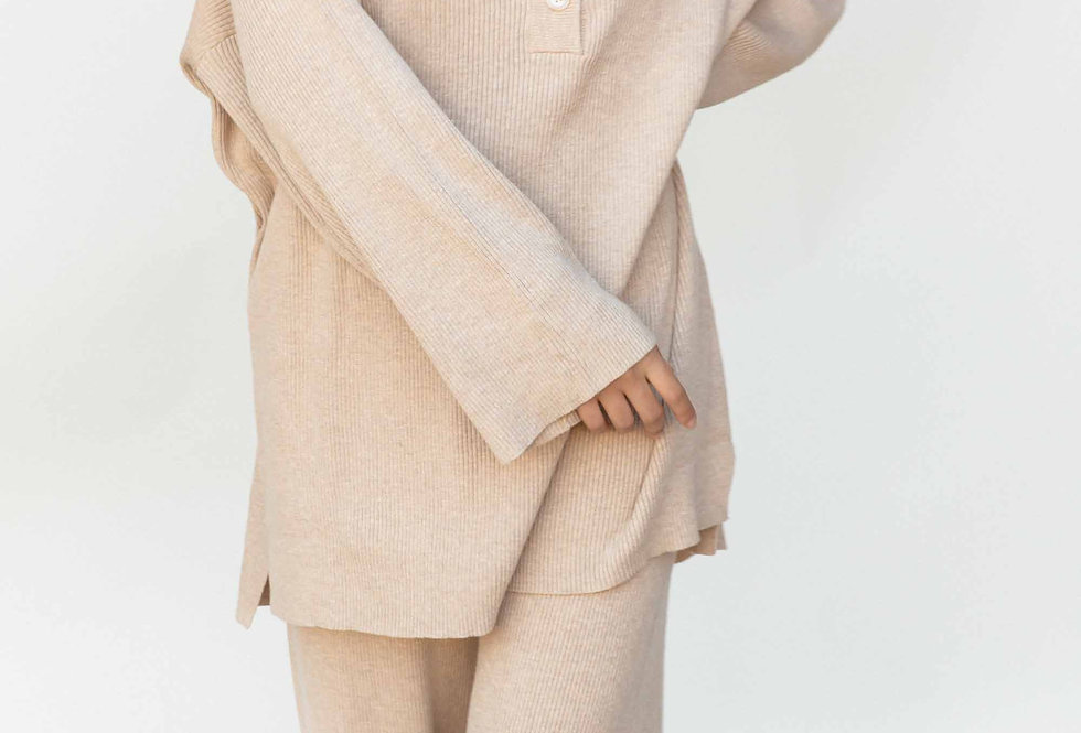 Flora Knit Sweater | Dunes | The Lullaby Club