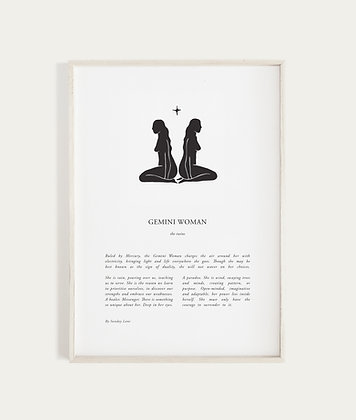 Gemini by Sunday Lane    Inspired by you, the celestial woman, strong as hell and spectacularly created.
