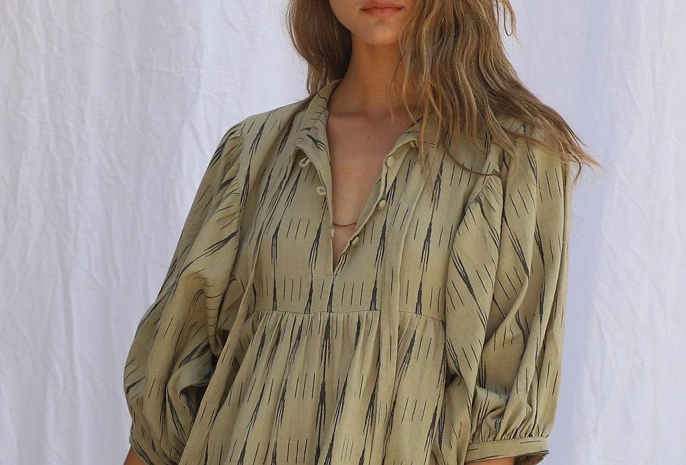 High Desert Medellin Dress | Ikat Yucca | Jen's Pirate Booty