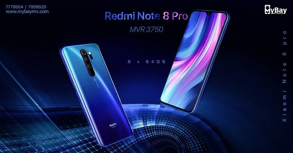 Redmi Note 8 Pro 6GB  64GB,
