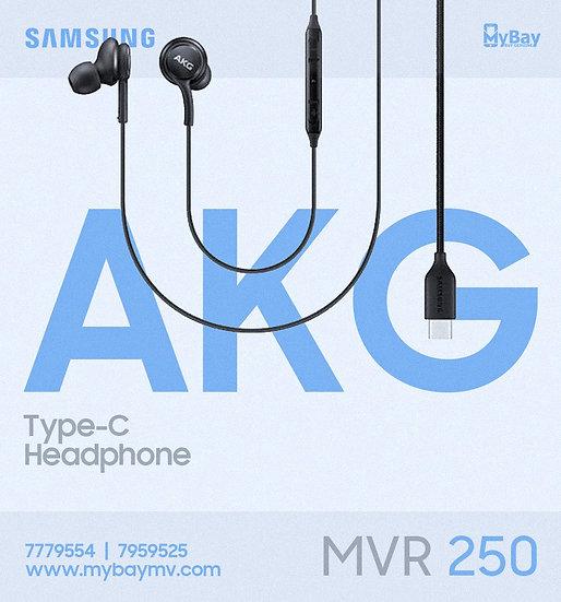 Type-C AKG Headsets