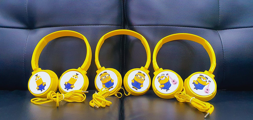 Minions kids Headphones