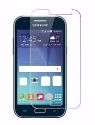 Samsung J1 Black Tempered Full glass