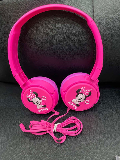 Minnie Mouse kids Wired Headphones
