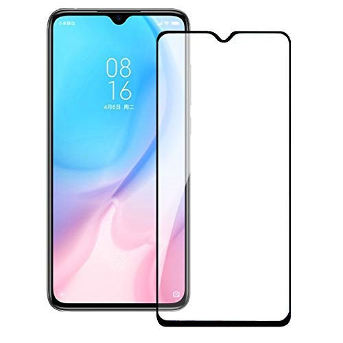 Samsung A10s Black Tempered Full Glass