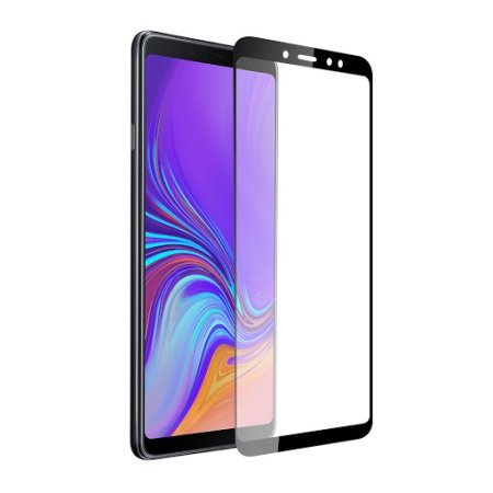 A9 2018 Black Tempered Full Glass