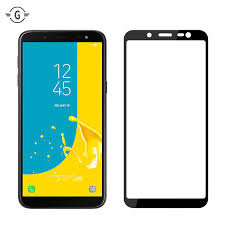 samsung J6 2018 full tempered glass