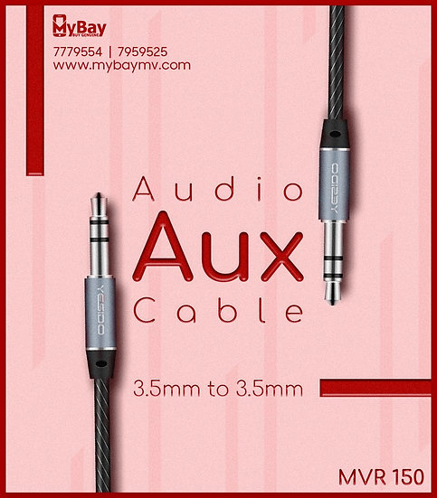 Yesido Audio Aux  Cable  3.5 mm to 3.5mm