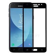 Samsung J3 pro white/Black Tempered Full Glass