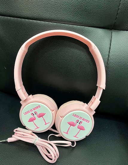 Flamingo Kids Wired Headphones