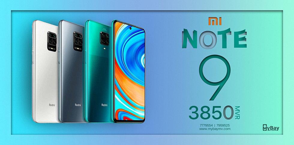 Xiaomi Mi Note 9
