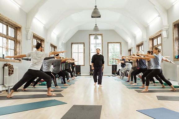 Embodied Yoga Principles Teacher Training - Brighton UK