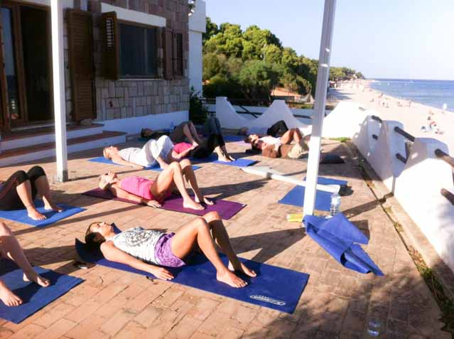 yoga sardinia 2014 relaxation