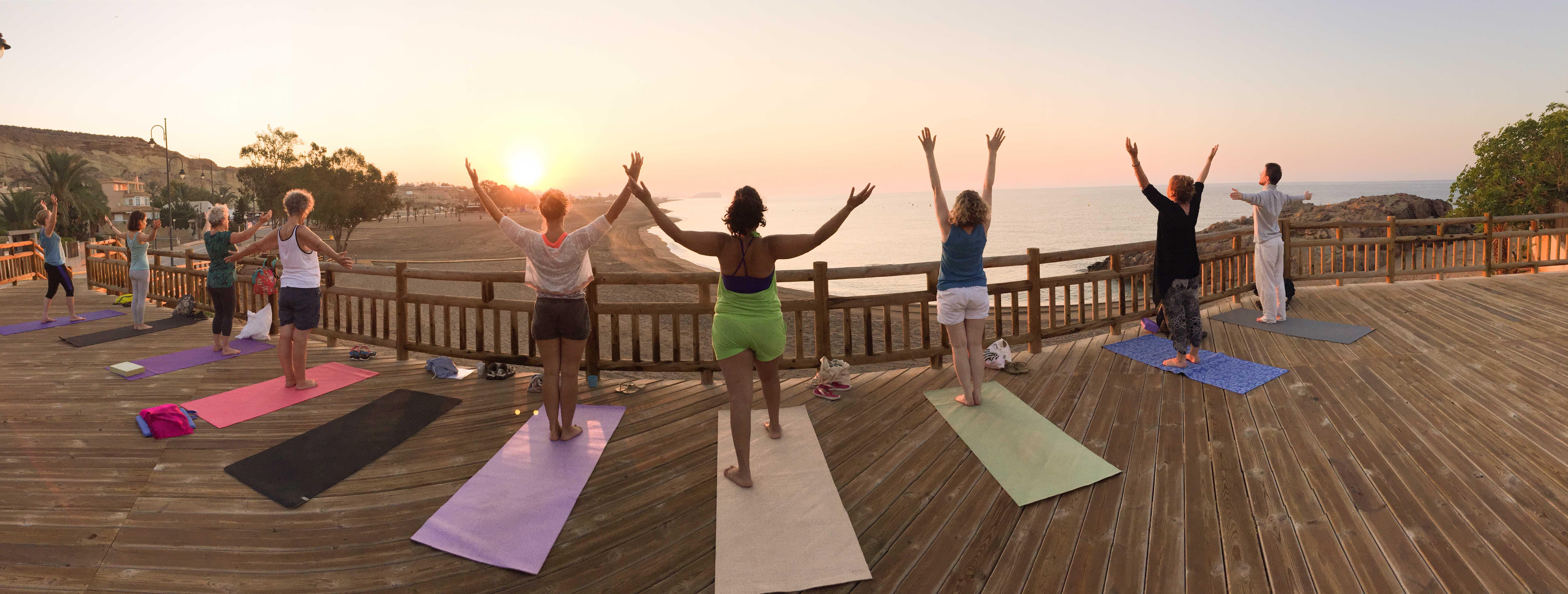 Sunrise Yoga spain- murcia 2015