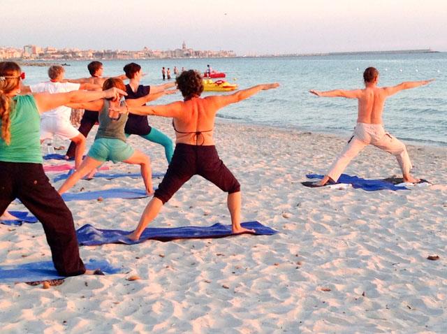 Yoga week - Alghero - Sardinia 2013