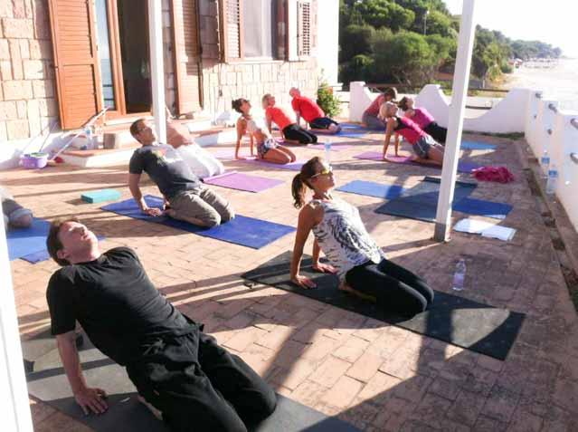 yoga sardinia 2014