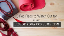 Embodied Yoga Principles article in YOGA INTERNATIONAL : 6 Red Flags to Watch Out for in the Era of