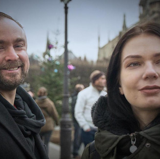 Mark Walsh and Daria Walsh