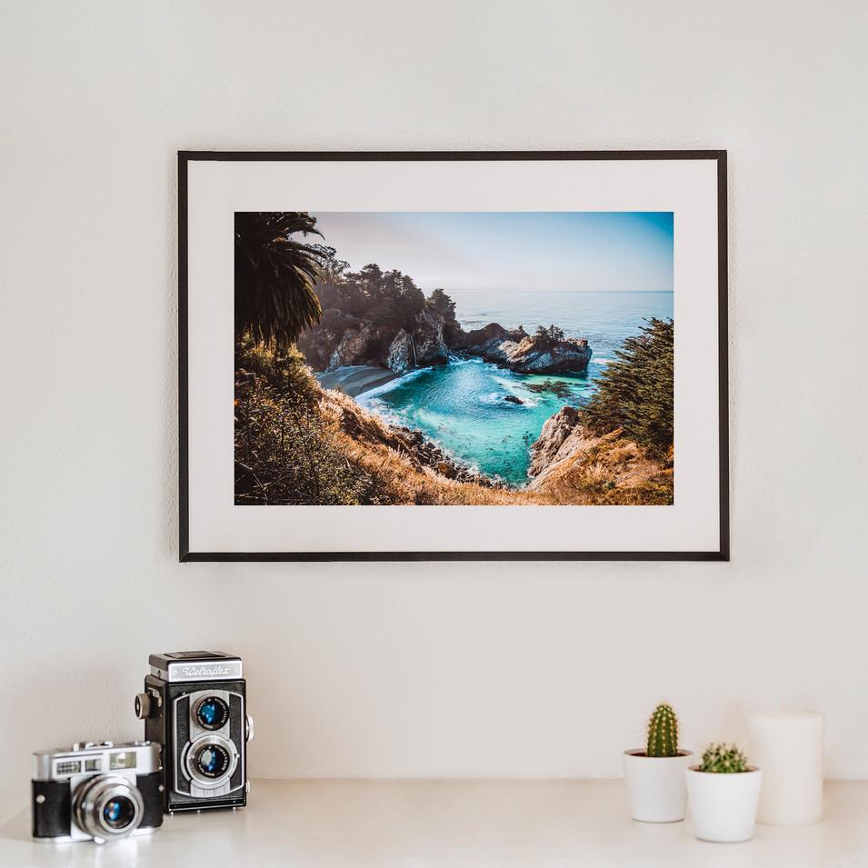 Waterfall   California