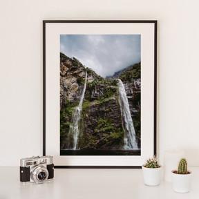 Waterfall | Neuseeland