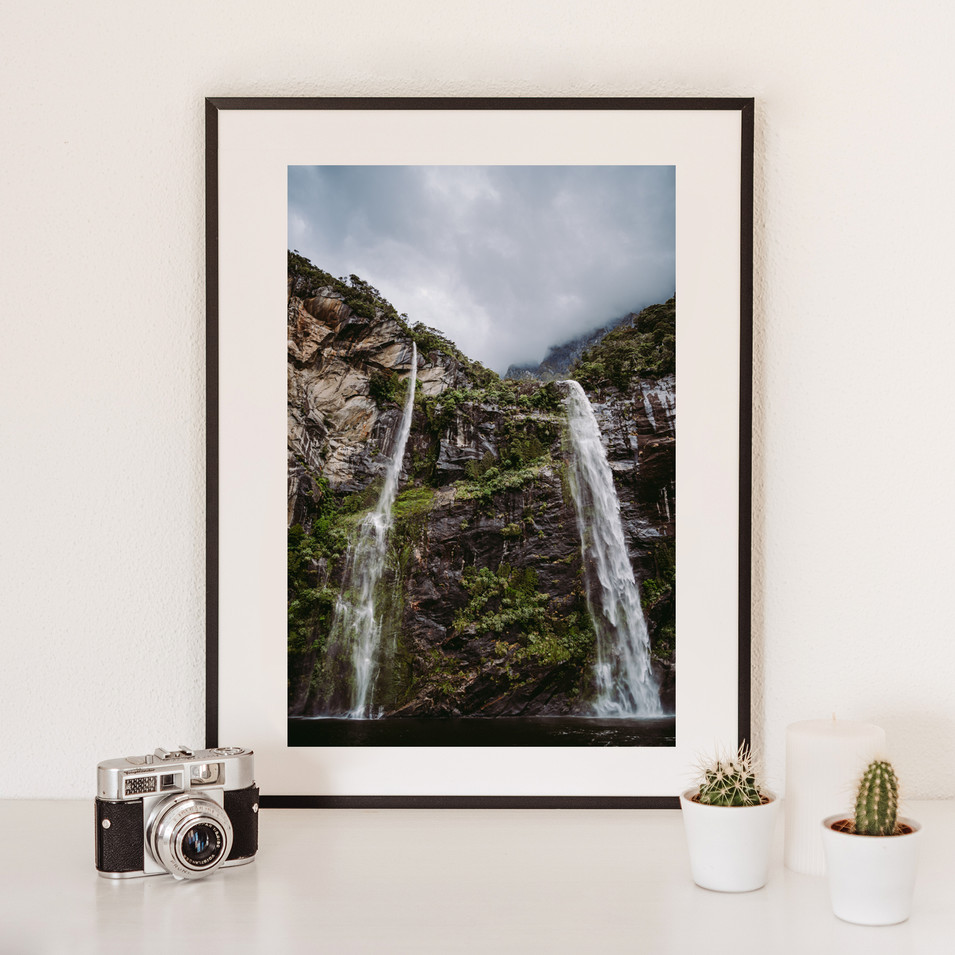 Waterfall   Neuseeland