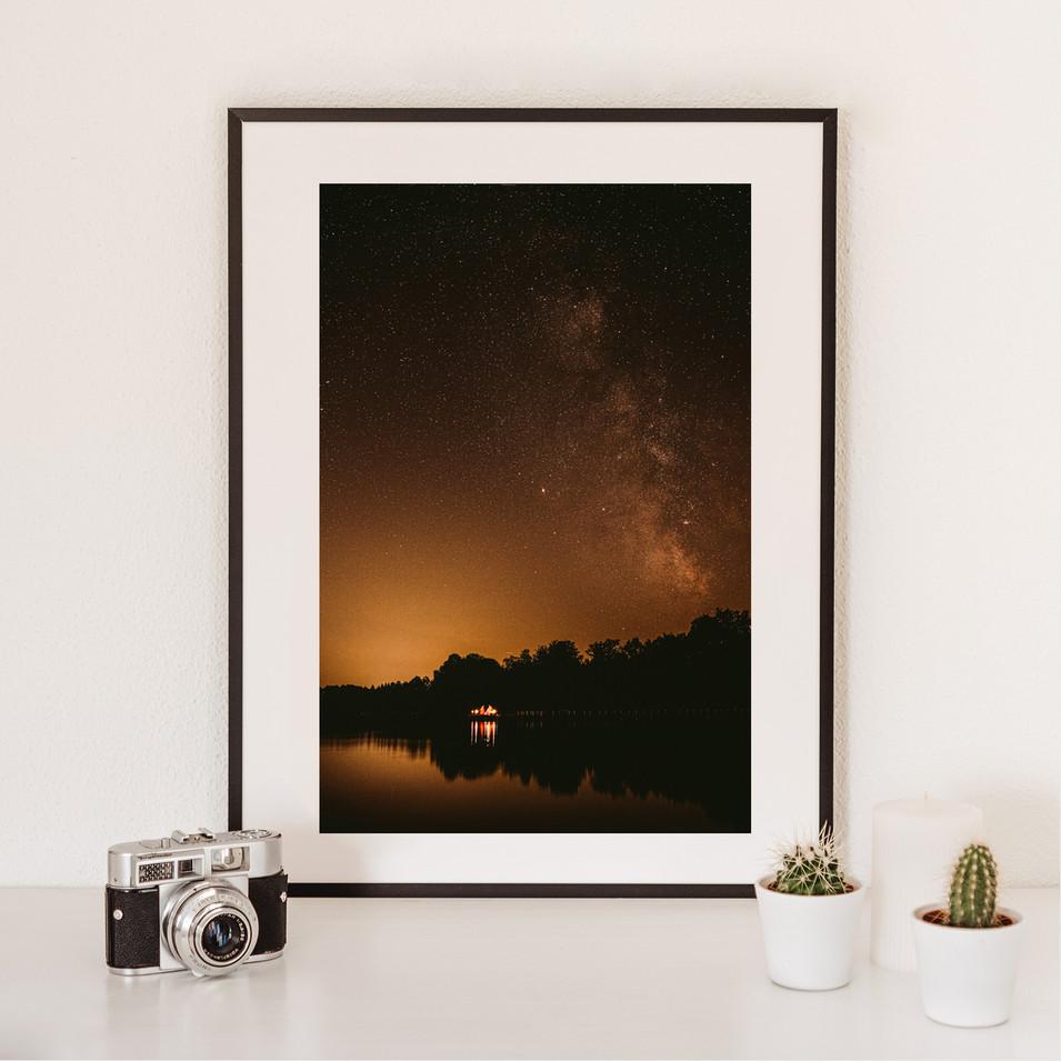 A sky full of stars   Wörthsee