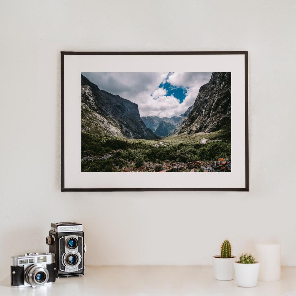 Fjordland Valley   Neuseeland